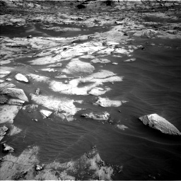 Nasa's Mars rover Curiosity acquired this image using its Left Navigation Camera on Sol 3216, at drive 2834, site number 90