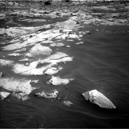 Nasa's Mars rover Curiosity acquired this image using its Left Navigation Camera on Sol 3216, at drive 2840, site number 90