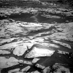Nasa's Mars rover Curiosity acquired this image using its Left Navigation Camera on Sol 3216, at drive 2960, site number 90