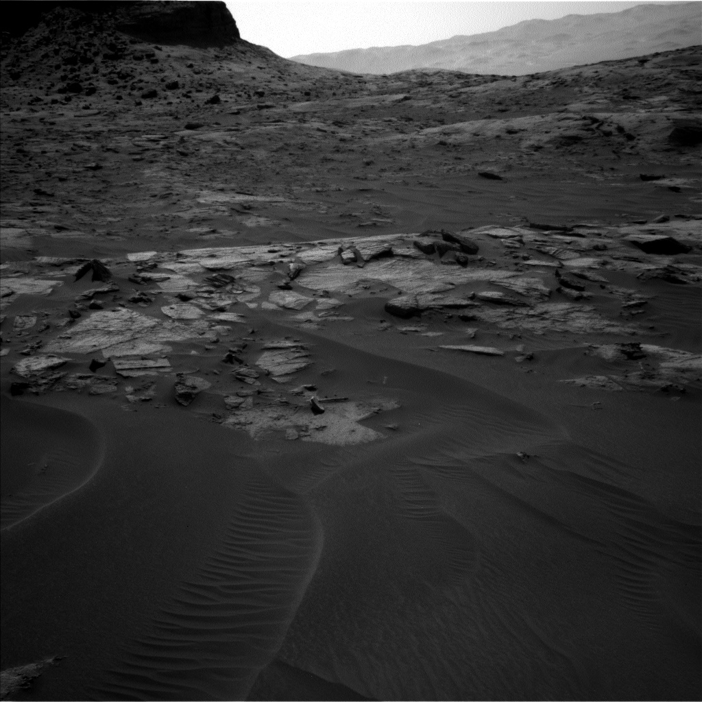 Nasa's Mars rover Curiosity acquired this image using its Left Navigation Camera on Sol 3216, at drive 2990, site number 90