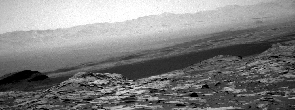 Nasa's Mars rover Curiosity acquired this image using its Right Navigation Camera on Sol 3216, at drive 2630, site number 90