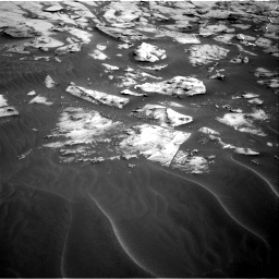 Nasa's Mars rover Curiosity acquired this image using its Right Navigation Camera on Sol 3216, at drive 2660, site number 90