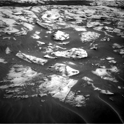 Nasa's Mars rover Curiosity acquired this image using its Right Navigation Camera on Sol 3216, at drive 2666, site number 90