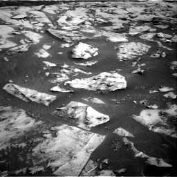 Nasa's Mars rover Curiosity acquired this image using its Right Navigation Camera on Sol 3216, at drive 2672, site number 90