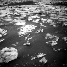 Nasa's Mars rover Curiosity acquired this image using its Right Navigation Camera on Sol 3216, at drive 2696, site number 90
