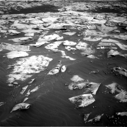 Nasa's Mars rover Curiosity acquired this image using its Right Navigation Camera on Sol 3216, at drive 2702, site number 90