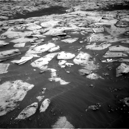 Nasa's Mars rover Curiosity acquired this image using its Right Navigation Camera on Sol 3216, at drive 2720, site number 90