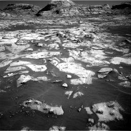 Nasa's Mars rover Curiosity acquired this image using its Right Navigation Camera on Sol 3216, at drive 2732, site number 90