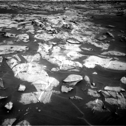 Nasa's Mars rover Curiosity acquired this image using its Right Navigation Camera on Sol 3216, at drive 2744, site number 90