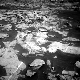 Nasa's Mars rover Curiosity acquired this image using its Right Navigation Camera on Sol 3216, at drive 2750, site number 90