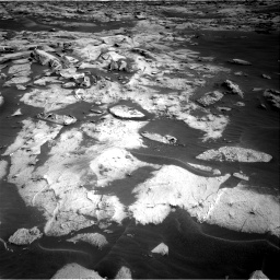 Nasa's Mars rover Curiosity acquired this image using its Right Navigation Camera on Sol 3216, at drive 2756, site number 90