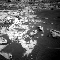 Nasa's Mars rover Curiosity acquired this image using its Right Navigation Camera on Sol 3216, at drive 2774, site number 90
