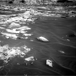 Nasa's Mars rover Curiosity acquired this image using its Right Navigation Camera on Sol 3216, at drive 2804, site number 90