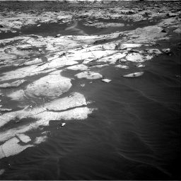 Nasa's Mars rover Curiosity acquired this image using its Right Navigation Camera on Sol 3216, at drive 2870, site number 90