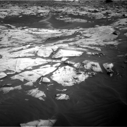 Nasa's Mars rover Curiosity acquired this image using its Right Navigation Camera on Sol 3216, at drive 2924, site number 90