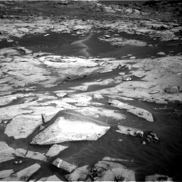 Nasa's Mars rover Curiosity acquired this image using its Right Navigation Camera on Sol 3216, at drive 2960, site number 90