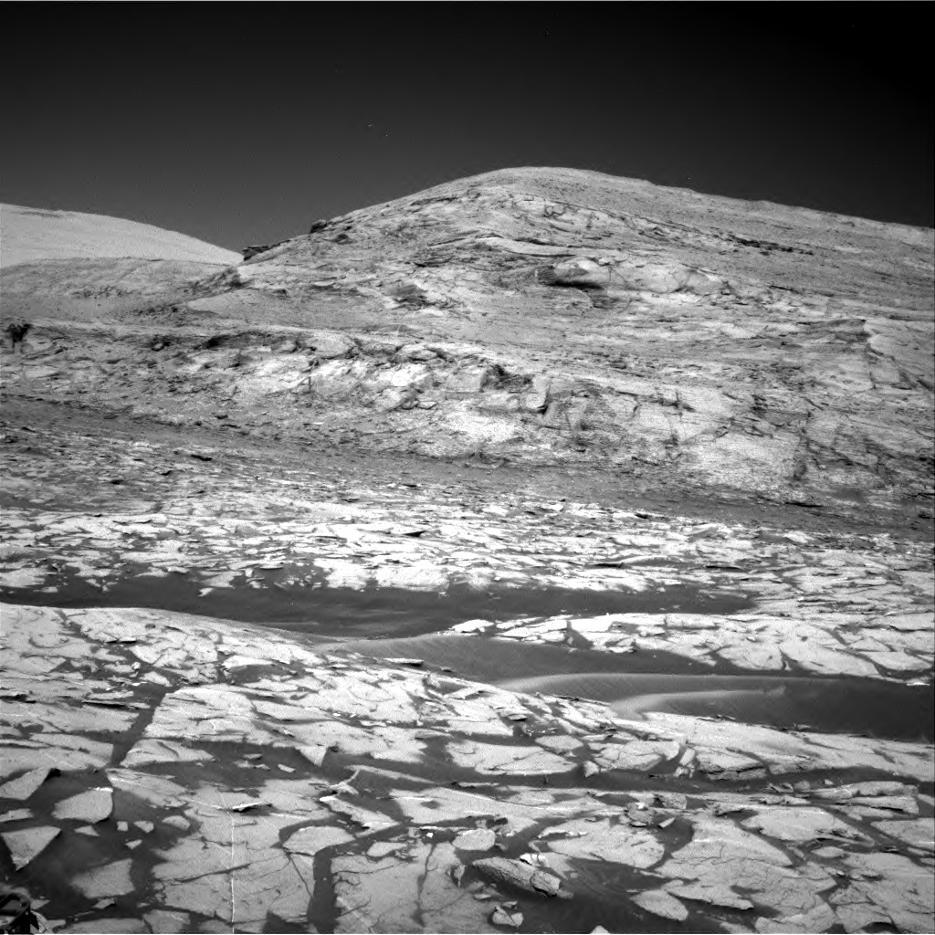 Nasa's Mars rover Curiosity acquired this image using its Right Navigation Camera on Sol 3216, at drive 2990, site number 90
