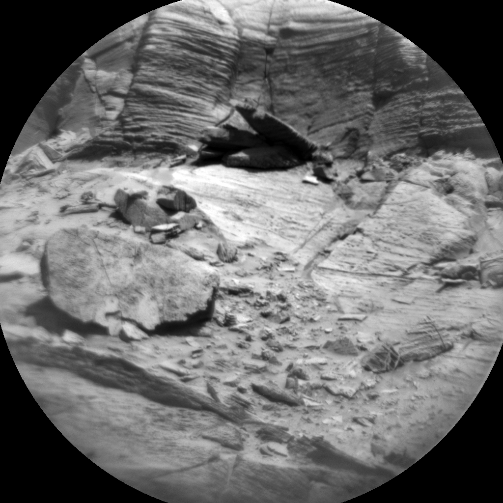 Nasa's Mars rover Curiosity acquired this image using its Chemistry & Camera (ChemCam) on Sol 3216, at drive 2630, site number 90