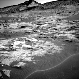 Nasa's Mars rover Curiosity acquired this image using its Left Navigation Camera on Sol 3217, at drive 2996, site number 90