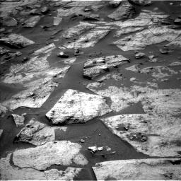 Nasa's Mars rover Curiosity acquired this image using its Left Navigation Camera on Sol 3217, at drive 3056, site number 90