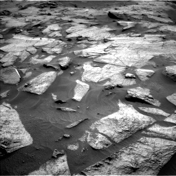 Nasa's Mars rover Curiosity acquired this image using its Left Navigation Camera on Sol 3217, at drive 3074, site number 90