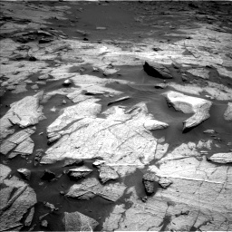 Nasa's Mars rover Curiosity acquired this image using its Left Navigation Camera on Sol 3217, at drive 3098, site number 90