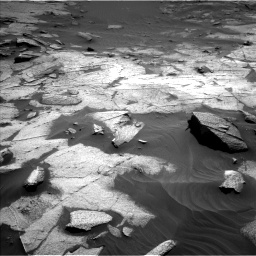 Nasa's Mars rover Curiosity acquired this image using its Left Navigation Camera on Sol 3217, at drive 3116, site number 90