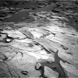 Nasa's Mars rover Curiosity acquired this image using its Left Navigation Camera on Sol 3217, at drive 3200, site number 90