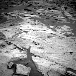 Nasa's Mars rover Curiosity acquired this image using its Left Navigation Camera on Sol 3217, at drive 3206, site number 90