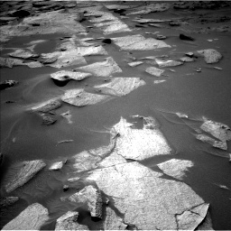 Nasa's Mars rover Curiosity acquired this image using its Left Navigation Camera on Sol 3217, at drive 3254, site number 90