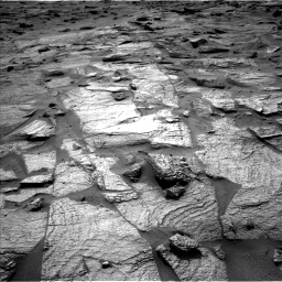 Nasa's Mars rover Curiosity acquired this image using its Left Navigation Camera on Sol 3217, at drive 3374, site number 90
