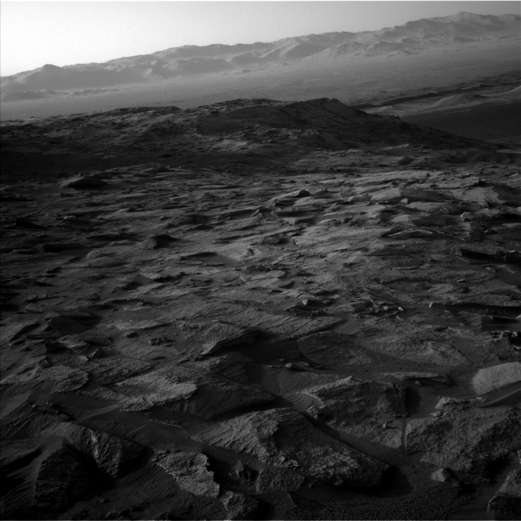 Nasa's Mars rover Curiosity acquired this image using its Left Navigation Camera on Sol 3217, at drive 0, site number 91