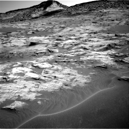 Nasa's Mars rover Curiosity acquired this image using its Right Navigation Camera on Sol 3217, at drive 2996, site number 90