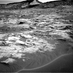 Nasa's Mars rover Curiosity acquired this image using its Right Navigation Camera on Sol 3217, at drive 3008, site number 90