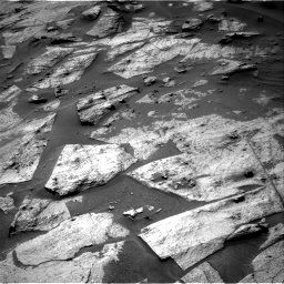 Nasa's Mars rover Curiosity acquired this image using its Right Navigation Camera on Sol 3217, at drive 3044, site number 90
