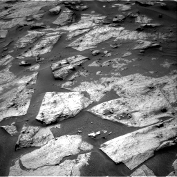 Nasa's Mars rover Curiosity acquired this image using its Right Navigation Camera on Sol 3217, at drive 3050, site number 90