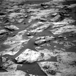 Nasa's Mars rover Curiosity acquired this image using its Right Navigation Camera on Sol 3217, at drive 3056, site number 90