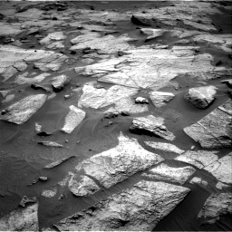 Nasa's Mars rover Curiosity acquired this image using its Right Navigation Camera on Sol 3217, at drive 3074, site number 90