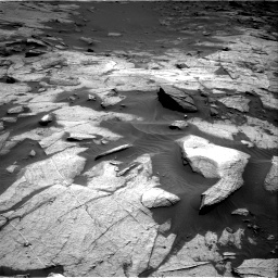 Nasa's Mars rover Curiosity acquired this image using its Right Navigation Camera on Sol 3217, at drive 3104, site number 90