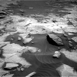 Nasa's Mars rover Curiosity acquired this image using its Right Navigation Camera on Sol 3217, at drive 3116, site number 90