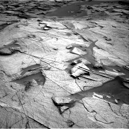 Nasa's Mars rover Curiosity acquired this image using its Right Navigation Camera on Sol 3217, at drive 3170, site number 90
