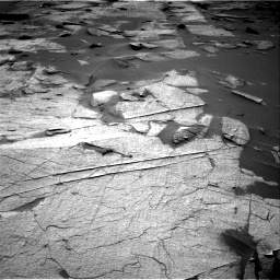 Nasa's Mars rover Curiosity acquired this image using its Right Navigation Camera on Sol 3217, at drive 3224, site number 90