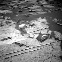 Nasa's Mars rover Curiosity acquired this image using its Right Navigation Camera on Sol 3217, at drive 3230, site number 90