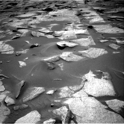Nasa's Mars rover Curiosity acquired this image using its Right Navigation Camera on Sol 3217, at drive 3248, site number 90