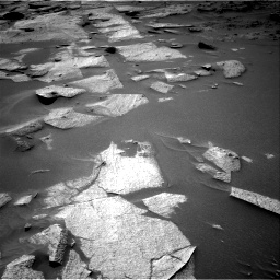 Nasa's Mars rover Curiosity acquired this image using its Right Navigation Camera on Sol 3217, at drive 3254, site number 90
