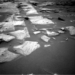 Nasa's Mars rover Curiosity acquired this image using its Right Navigation Camera on Sol 3217, at drive 3266, site number 90