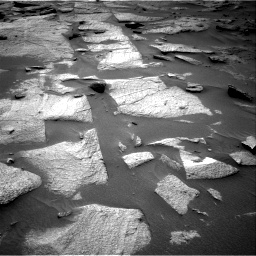 Nasa's Mars rover Curiosity acquired this image using its Right Navigation Camera on Sol 3217, at drive 3278, site number 90