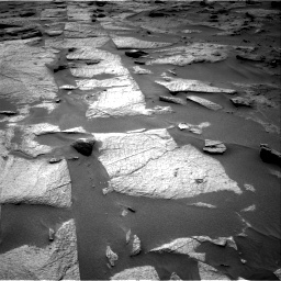 Nasa's Mars rover Curiosity acquired this image using its Right Navigation Camera on Sol 3217, at drive 3284, site number 90