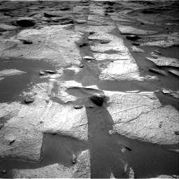 Nasa's Mars rover Curiosity acquired this image using its Right Navigation Camera on Sol 3217, at drive 3296, site number 90