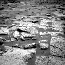 Nasa's Mars rover Curiosity acquired this image using its Right Navigation Camera on Sol 3217, at drive 3338, site number 90